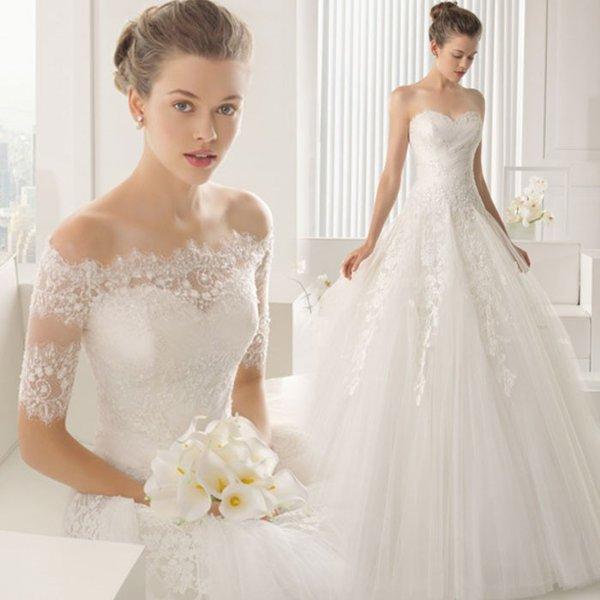 ウェディングドレス ビスチェプリンセスライン ノースリーブ 海外ウエディング 発表会 XS~XXXL 大きい 小さいサイズ 結婚式/二次会