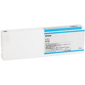 エプソン インクカートリッジ シアン 700ml ICC52【代引・後払い決済不可商品】