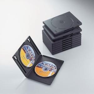 軽くて割れにくいポリプロピレン樹脂製 SEAL限定商品 エレコム DVDトールケース 信憑 CCD-DVD06BK 代引 後払い決済不可商品