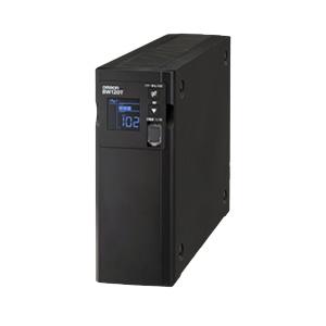 【_関東】オムロン ソーシアルソリューションズ BW120T 無停電電源装置(UPS)【後払い決済不可商品】