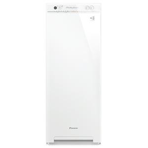 スクエアフォルムでさりげなくお部屋にとけ込む暮らし目線のスリムタワー型 ダイキン 加湿ストリーマ空気清浄機 ACK55V-W(ホワイト)【代引・後払い決済不可商品】