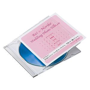 DVD CDプラケース用の薄手でお手軽なインデックスカード サンワサプライ プラケース用インデックスカード JP-IND12-100 薄手 爆安プライス 後払い決済不可商品 代引 人気の製品