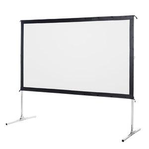 サンワサプライ プロジェクタースクリーン(アルミフレーム式) PRS-AF100【代引・後払い決済不可商品】