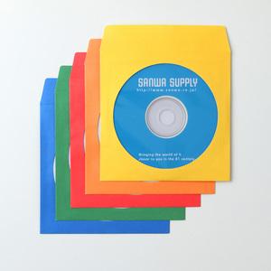 余白部分に手軽に書き込める紙製のDVD CDスリーブケース サンワサプライ 送料無料カード決済可能 DVD 人気商品 代引 後払い決済不可商品 CDペーパースリーブケース FCD-PS100MXN