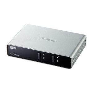 サンワサプライ パソコン自動切替器(2:1) SW-KVM2LUN【代引・後払い決済不可商品】