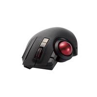 エレコム トラックボールマウス/親指/8ボタン/チルト機能/有線/無線/Bluetooth/1000万回耐久/ブラック M-XPT1MRBK【代引・後払い決済不可商品】