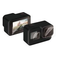 水に濡れても画面が見やすい超親水性のあるタイプを採用 GoPro HERO8 Blackの画面をキズや衝撃から守る スーパーセール 超親水性 衝撃吸収タイプの液晶保護フィルム アクションカメラ用保護フィルム 後払い決済不可商品 AC-GP8BFLPAFFG BLACK 代引 エレコム 訳あり