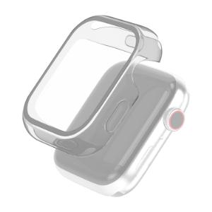 Apple Watch本体を キズ 汚れから守るApple Watch SE Series 6 5 4 百貨店 40mm 用フルカバーケースです ※Apple 後払い決済不可商品 セラミックケースには対応しません フルカバー TPU エレコム ポリカーボネート 代引 44mm クリア WEB限定 アップルウォッチ AW-40CSUCCR ケース