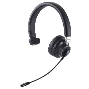 オーバーヘッドタイプの片耳ヘッドセット ケーブルの無いBluetooth R ハンズフリーヘッドセット エレコム Bluetoothオーバーヘッドセット 片耳 左右対応 ミュートボタン 最大通話再生24時間 後払い決済不可商品 長さ調節可能 チープ 通話可能 音量調整 ブラック SALENEW大人気 LBT-HSOH12PCBK web会議 代引
