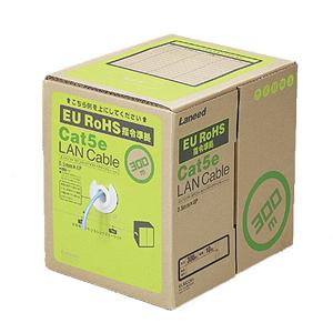 エレコム EU RoHS指令準拠 LANケーブル(Cat5e ヨリ線)300mLD-CT2/BU300/YR(ブルー)【代引・後払い決済不可商品】