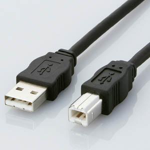 低価格化 自然に優しいECO対応 細くて使いやすいUSBケーブル エレコム エコUSBケーブル A-B USB2-ECO30 後払い決済不可商品 代引 3m ☆正規品新品未使用品
