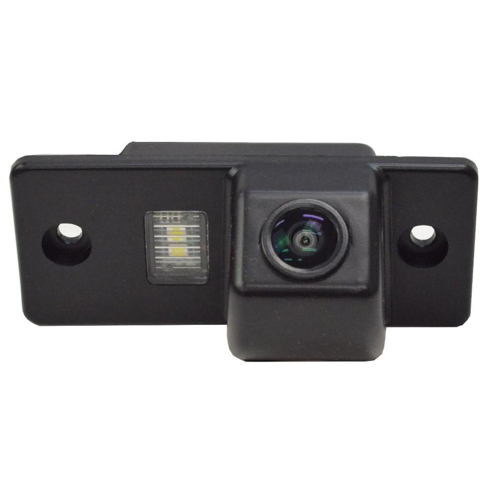 RC-POA-LED01 Cayenne カイエン(955型 9PA 2003-2006)ポルシェ車種別設計CCDバックカメラキット 純正ナンバー灯交換タイプ(VW バックカメラ キット カメラ ライセンスランプ パーツ バックカメラ ナンバー 灯 カスタム リアカメラ 車パーツ)