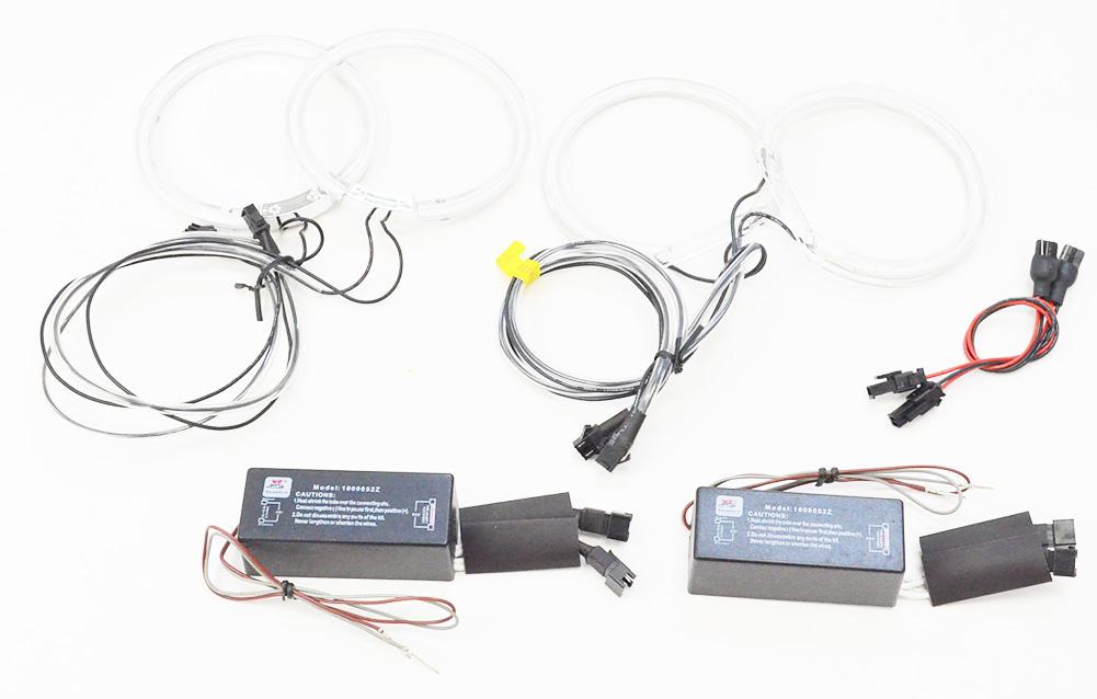 【CCFL イカリング】CC-BM14 BMW X3シリーズ E83(前期 キセノンプロジェクター) CCFLイカリング・冷極管エンジェルアイ レーシングダッシュ製 (CCFL イカリング インバーター ランプ パーツ インバータ)