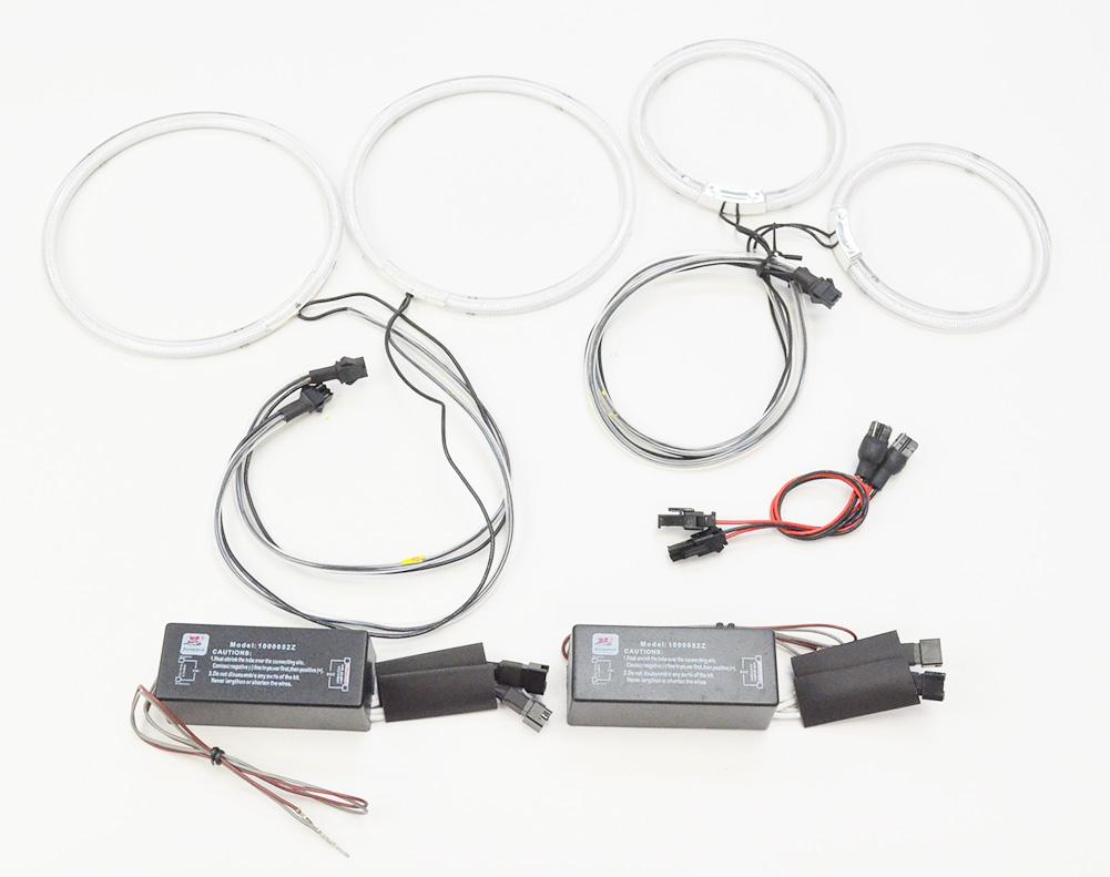CC-TO08 Lexusレクサス GS300(190系) CCFLイカリング・冷極管エンジェルアイ TOYOTA トヨタ レーシングダッシュ製 (レーシングダッシュ CCFL イカリング カーアクセサリー インバーター ランプ )