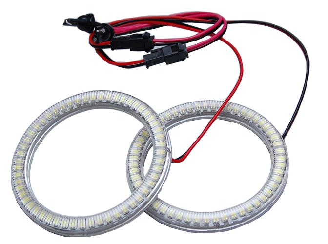 【イカリング】LL-E80 80mm 54発 高輝度&高角度SMD採用LEDイカリング・LEDエンジェルアイ(イカリング LED LEDイカリング エンジェルアイ ヘッドライト ヘッドランプ ライト ランプ ledランプ )