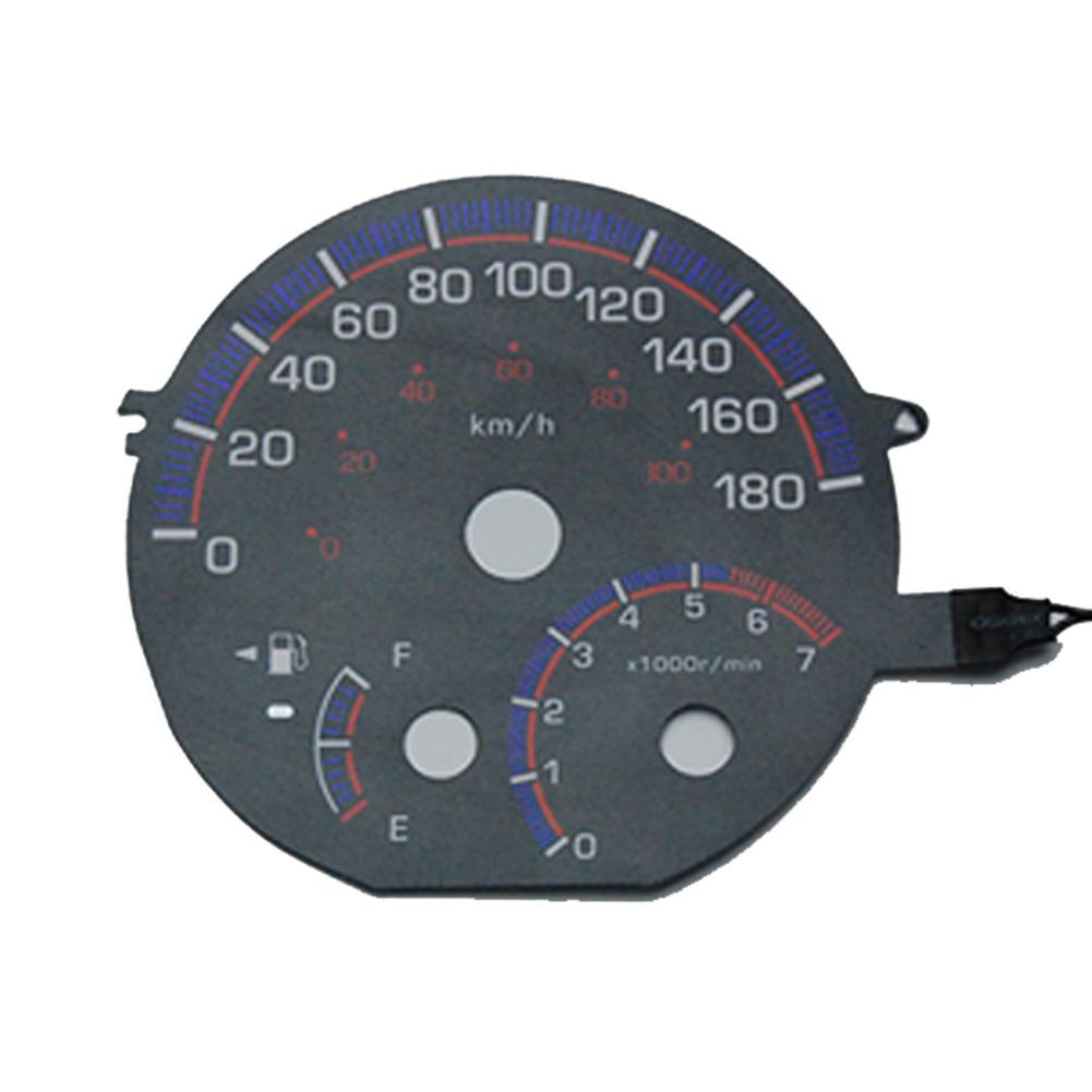 EL-TO03BK ブラックパネル bB ビービーNPC30(後期 2003-2005 H15-H17) Toyota トヨタ ELスピードメーター パネル(スピードメーター カーアクセサリー パーツ 車用品 カーグッズ アクセサリー グッズ 車 カー用品)