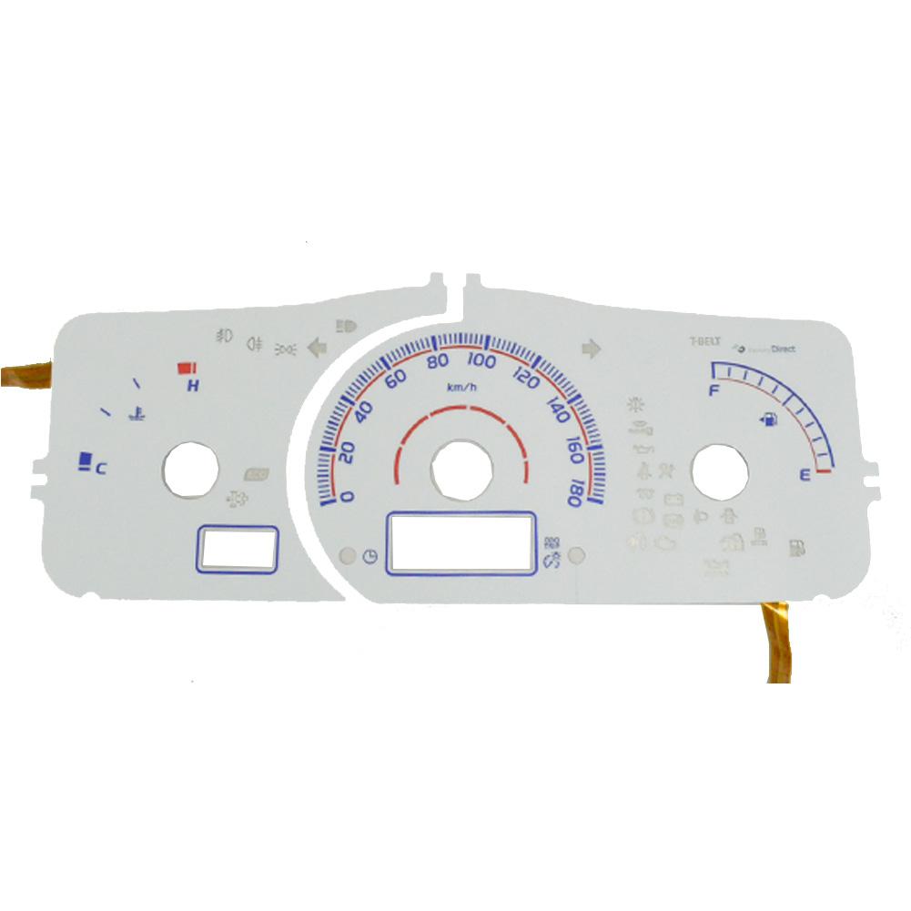 EL-TO11WH ホワイトパネル HIACE ハイエース 200系(4型 DX 2013.12以降 H25.12以降) Toyota トヨタ ELスピードメーター パネル レーシングダッシュ製( カスタム パーツ メーター 車 elメーター カスタムパーツ メーターパネル )