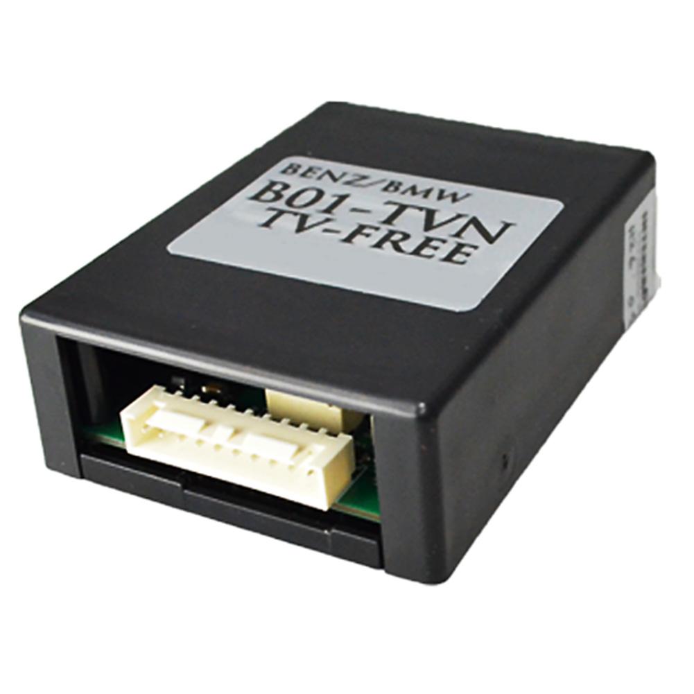 走行中に、助手席の方がTVなどを視聴できるように走行中のTVロックを解除する機器です。 B01TVN-BZ01 ベンツ TVキャンセラー TVフリー AクラスW176 2013.01以降 (TVキャンセラー TVジャンパー 割り込み 純正モニター インターフェイスジャパン BENZ)