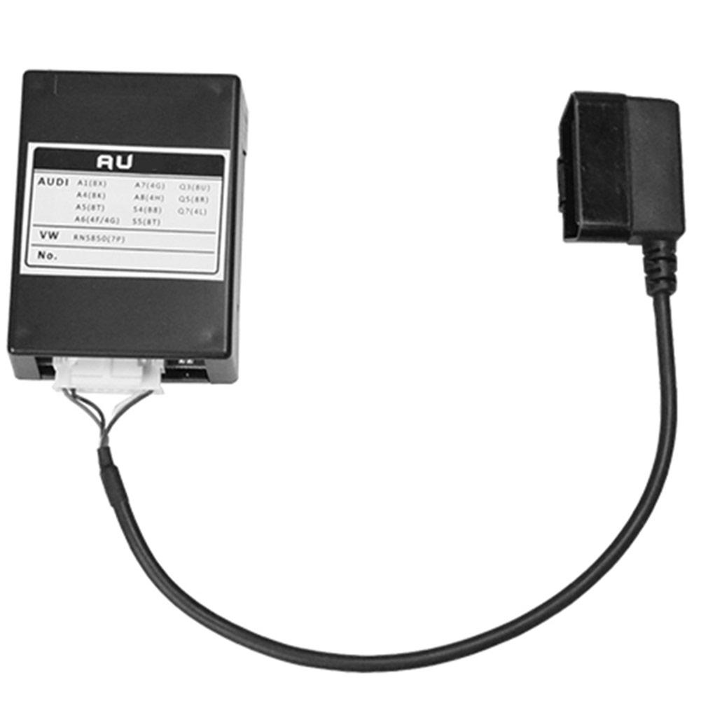 走行中に、助手席の方がTVなどを視聴できるように走行中のTVロックを解除する機器です。(MMI 3G/4G 2010以降/HDDナビ装着車) OBD-AU11 AUDI アウディ TVキャンセラー TT(2010.03以降 MMI 3G/3GPlus/4G HDDナビ装着車) OBDコーディング方式TVフリーテレビキャンセラー TVジャンパー インターフェイスジャパン