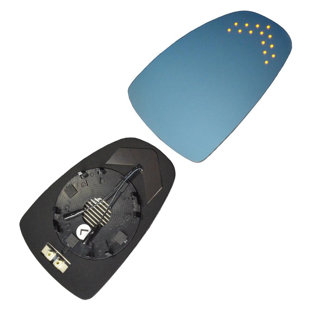 lm-au06a A1(Typ 8X系 2011-2018 H23-H30) AUDI アウディ LEDウインカードアミラーレンズ ブルードアミラーレンズ( カスタム パーツ 車 カスタムパーツ ドアミラー アクセサリー ブルーミラー LEDウインカー 車用品 ledウィンカー )