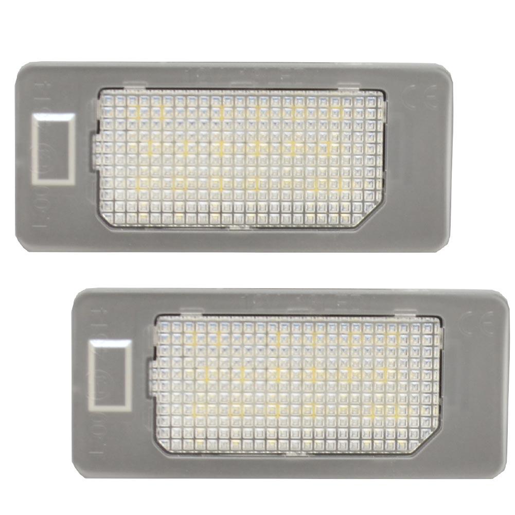 ll-au-h10 TT Mk2(Typ 8J 2007-2014 H19-H26) LED ナンバー灯 ランプ AUDI アウディ ( パーツ カスタム カスタムパーツ ナンバープレート ライセンスランプ ライト ナンバー ライセンス灯 ledナンバー灯 ライセンスライト )