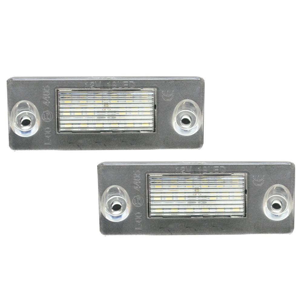 LL-AU-J02 A4(B5 8D 1995-1999 H7-H11) LED ナンバー灯 LED ライセンス ランプ AUDI アウディ (カー アクセサリー ドレスアップ ナンバーライト ナンバー)