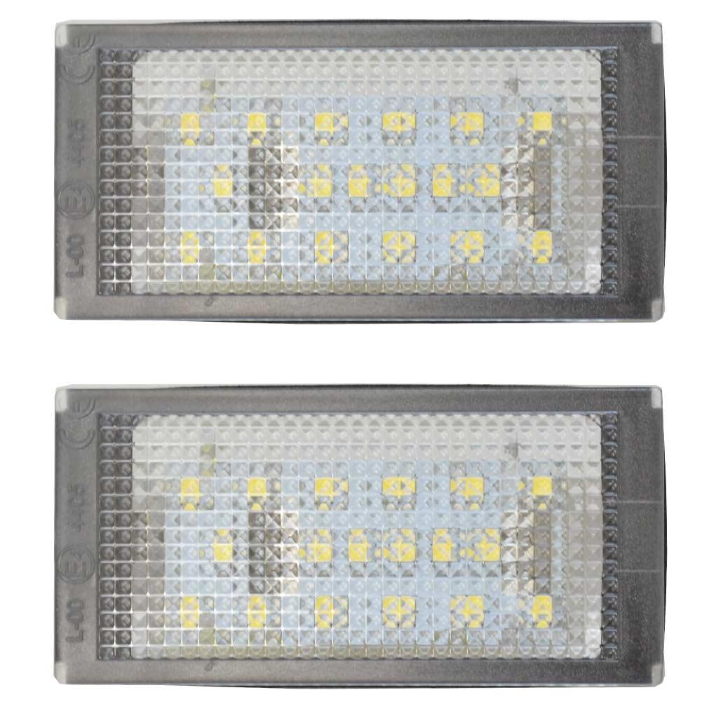 LL-BM-D02 Mシリーズ E46 M3クーペ(前期 1999-2003) 5603727W LEDナンバー灯 LEDライセンスランプ BMW レーシングダッシュ製 (レーシングダッシュ LED ナンバー灯 用品 カー )