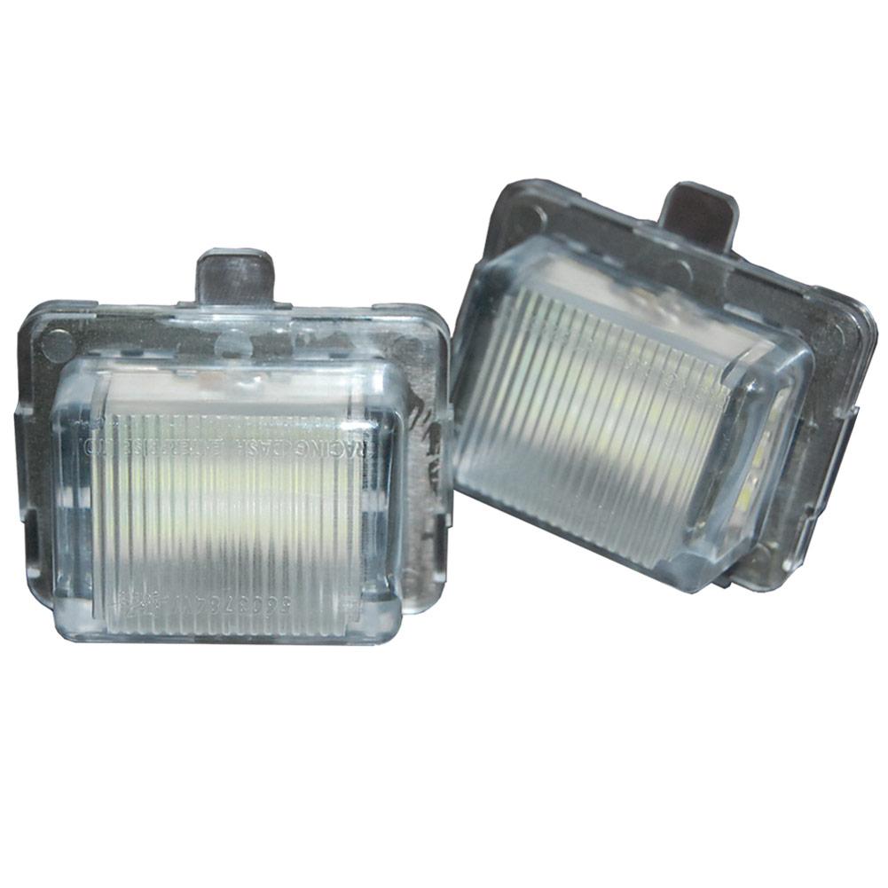 LL-BZ-B08 Sクラス W221 セダン(2005-2009) 5603784W MercedesBenz メルセデスベンツ LEDナンバー灯 ライセンスランプ レーシングダッシュ製 (レーシングダッシュ LED ナンバー灯 LED)