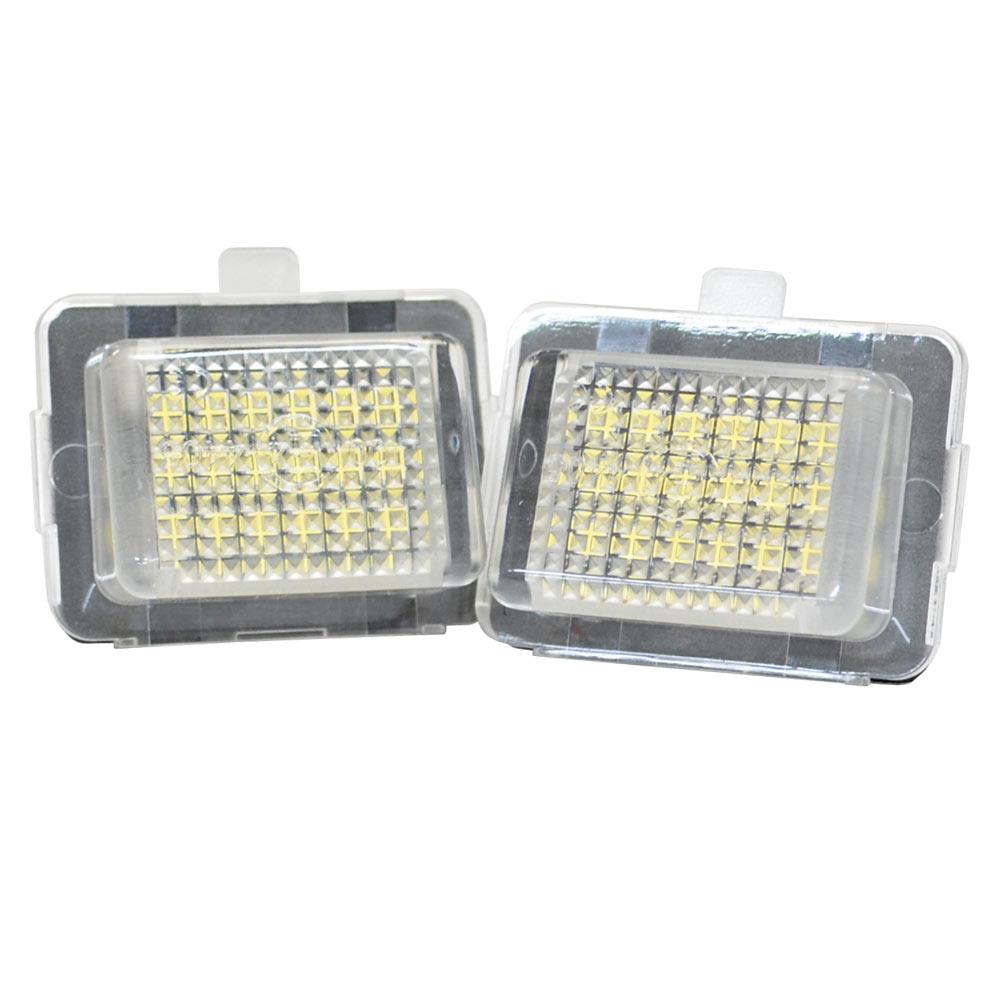 ll-bz-g02 Cクラス S204 ワゴン(2011以降 H23以降) 純正LEDナンバー灯専用 5605864W メルセデスベンツ LEDナンバー灯 ライセンスランプ レーシングダッシュ製 (LEDナンバー灯 ランプ ナンバー ライト ライセンス灯)