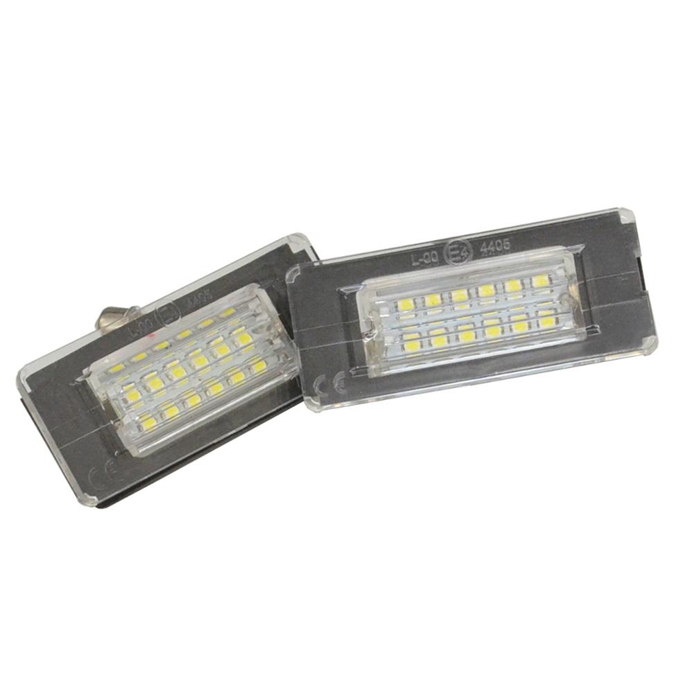 LL-MI-B05 LEDナンバー灯 LEDライセンスランプ MINI R59 Roadster ロードスター (LED ナンバー灯 カー アクセサリー ドレスアップ ナンバーライト ナンバープレートランプ)