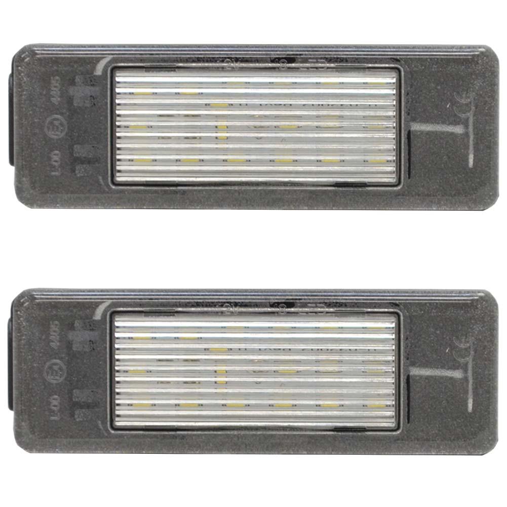 ll-pe-b12 LEDナンバー 3008(2009-2016)Peugeot プジョー LEDライセンスランプ ( パーツ カスタム カスタムパーツ カー LED ナンバープレート ナンバー灯 ライセンス灯 ドレスアップ ledナンバー灯 ナンバーライト ライセンスライト )