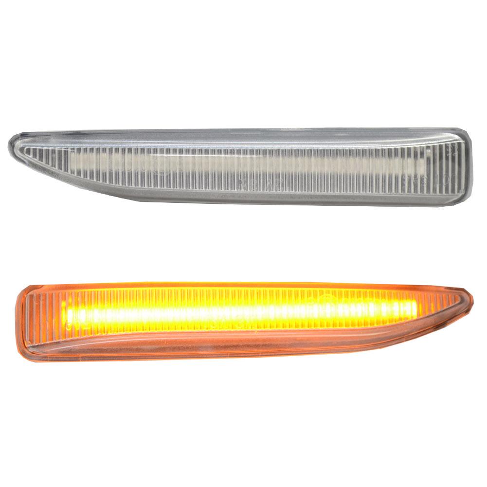 ll-bm-smg-cr01 クリアーレンズ 7シリーズ E65 E66 LEDサイドマーカー LEDウインカー BMW( パーツ カスタム カスタムパーツ ウインカー ウィンカー サイド マーカー マーカーレンズ レンズ 自動車 部品 サイドマーカー カー用品 )