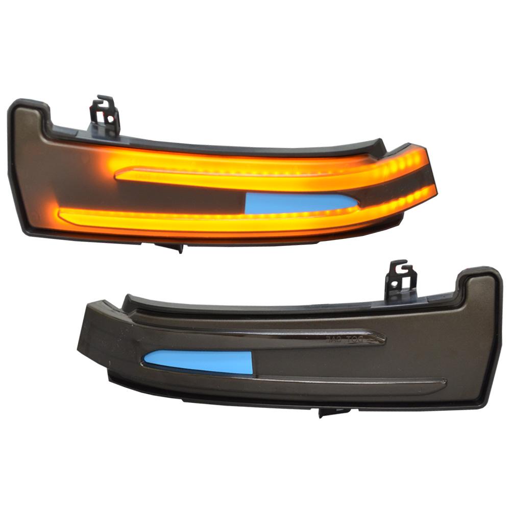 ll-bz-dwa-sm01 スモークレンズ LEDドアミラーウインカーランプ Aクラス W176(2013.01以降 H25.01以降)メルセデスベンツ BENZ(シーケンシャルタイプ)( LED ウインカーシーケンシャルウインカー シーケンシャル ウィンカー )
