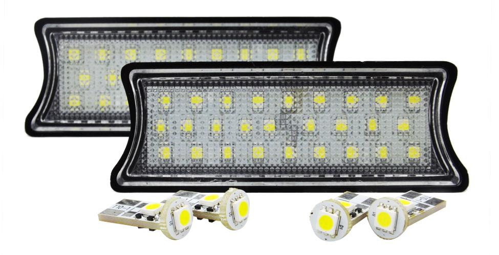 LL-BM-RLC02 フロント&リア用 BMWLEDルーム・リーディング・マップランプ・LED車内灯 7シリーズ E65 E66 (BMW LED 室内灯 LED室内灯 ルームランプ カーアクセサリー パーツ カーパーツ )
