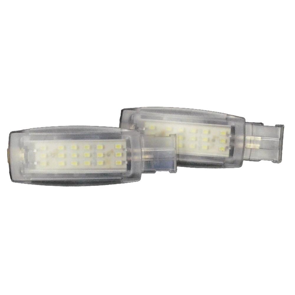 LL-VW-VAA11 Passart パサートB7(3C 2011以降2013) 5604657W VW・フォルクスワーゲン LEDバニティミラーランプ 化粧灯 インテリアランプ 室内灯 レーシングダッシュ製 (レーシングダッシュ LED )