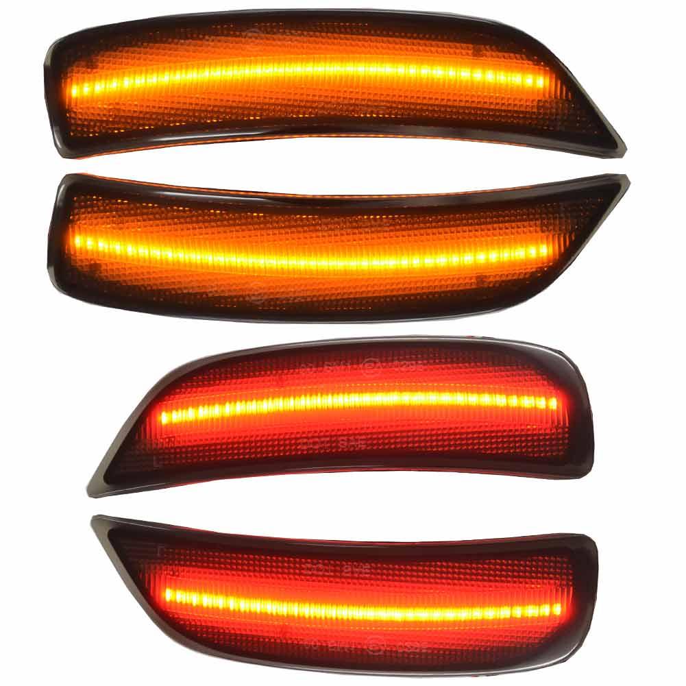 ll-ma-rsa-sm01 スモークレンズ Roadster ロードスター(ND系 H27.05以降 2015.05以降) LEDサイドマーカーフロント&リア マツダ MAZDA ( カスタム パーツ 車 サイドマーカー ウインカー ウィンカー マーカーランプ ライト フロント 車用品)