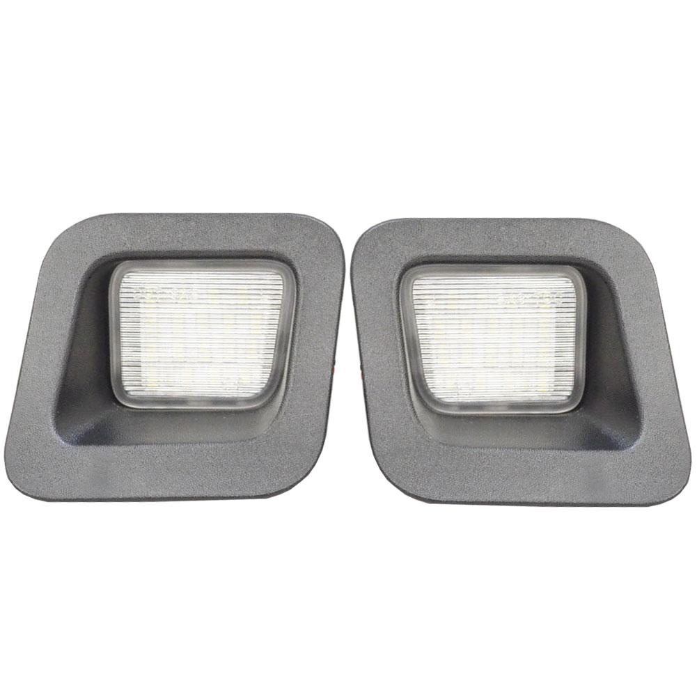 LL-DO-A01 LEDナンバー灯Dodge Ram ダッジラム 1500 2500 3500(2003以降) LEDライセンスランプ (カスタム パーツ 車 LED アクセサリー カー ナンバー灯 ドレスアップ ライト ナンバーライト ナンバープレートランプ)