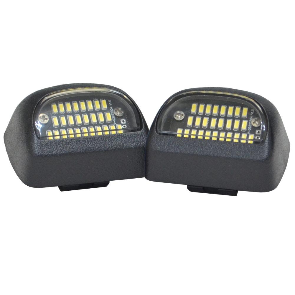ll-gm-f04 LEDナンバー灯 Chevrolet Suburban シボレー サバーバン(GMT800系 2000-2006 H12-H18) LEDライセンスランプ GM キャデラック( カスタム パーツ 車 ナンバー灯 ナンバープレート ライセンスランプ ナンバー 車用品 ドレスアップ)