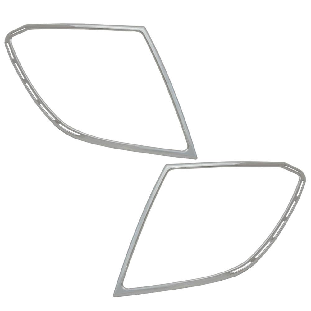 ri-mb107-02 テールライト用 Cクラス S204 W204 ワゴン(前期 後期 2007以降 H19以降)クロームメッキランプトリム Mercedes Benz メルセデス ベンツ ガーニッシュ カバー (クローム メッキ トリム リム)