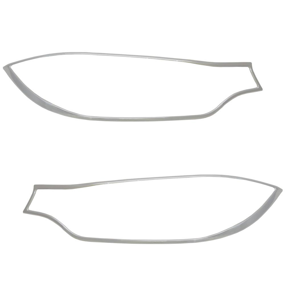 ri-bw150-01a ヘッドライト用 4シリーズ F32 F33 F36 GC BMW クローム ガーニッシュ カバー( カスタム パーツ 車 アクセサリー カスタムパーツ メッキ ヘッド ライト メッキパーツ ヘッドライトカバー 車用品 クロームメッキ )