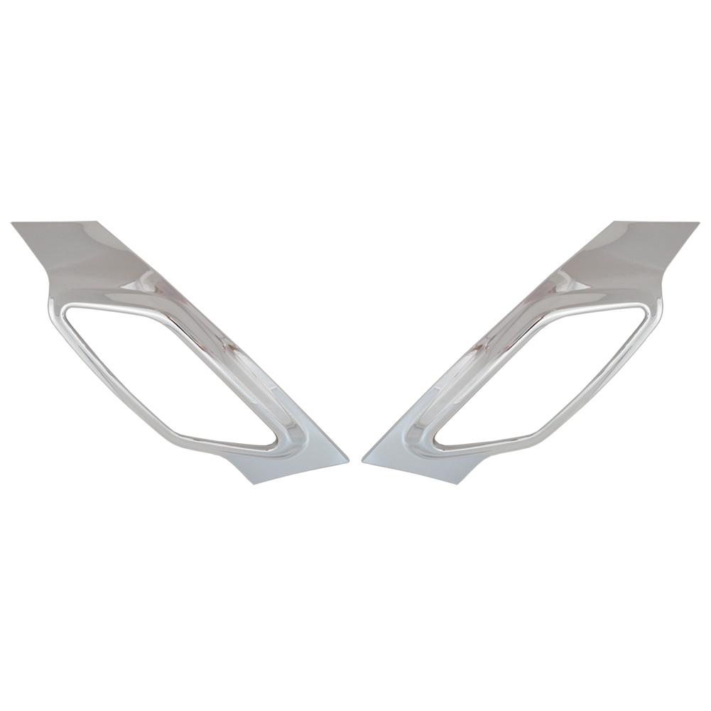 ri-mi414-55a サイドマーカー用 R60 カントリーマン R61 ペースマン BMW MINI クローム ガーニッシュ カバー ( カスタム パーツ 車 メッキ アクセサリー サイド ドレスアップ クロームメッキ トリム 車用品 カスタムパーツ )