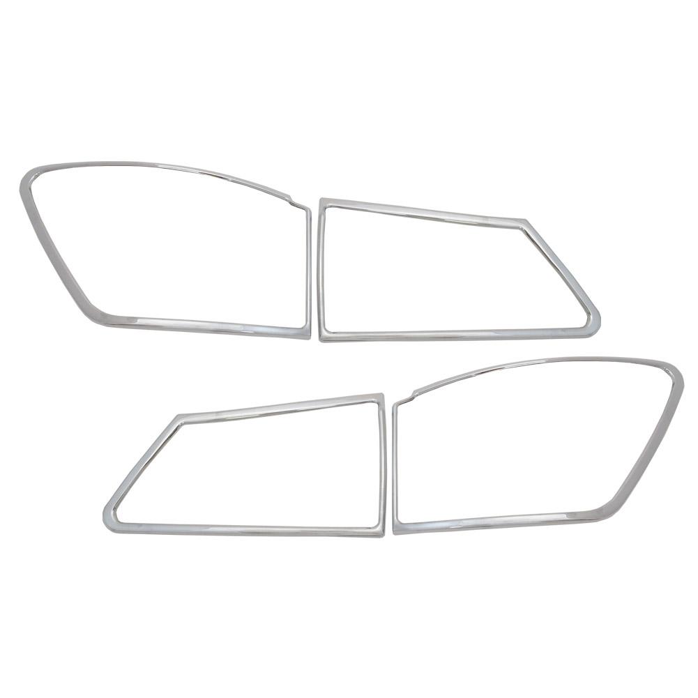 ri-ls301-02 テールライト用 Lexus レクサスIS250(20系前期 2005.08-2008.08 H17.08-H20.08) TOYOTA Lexus トヨタ レクサス・クロームメッキランプトリム ガーニッシュ カバー ( 外装パーツ)