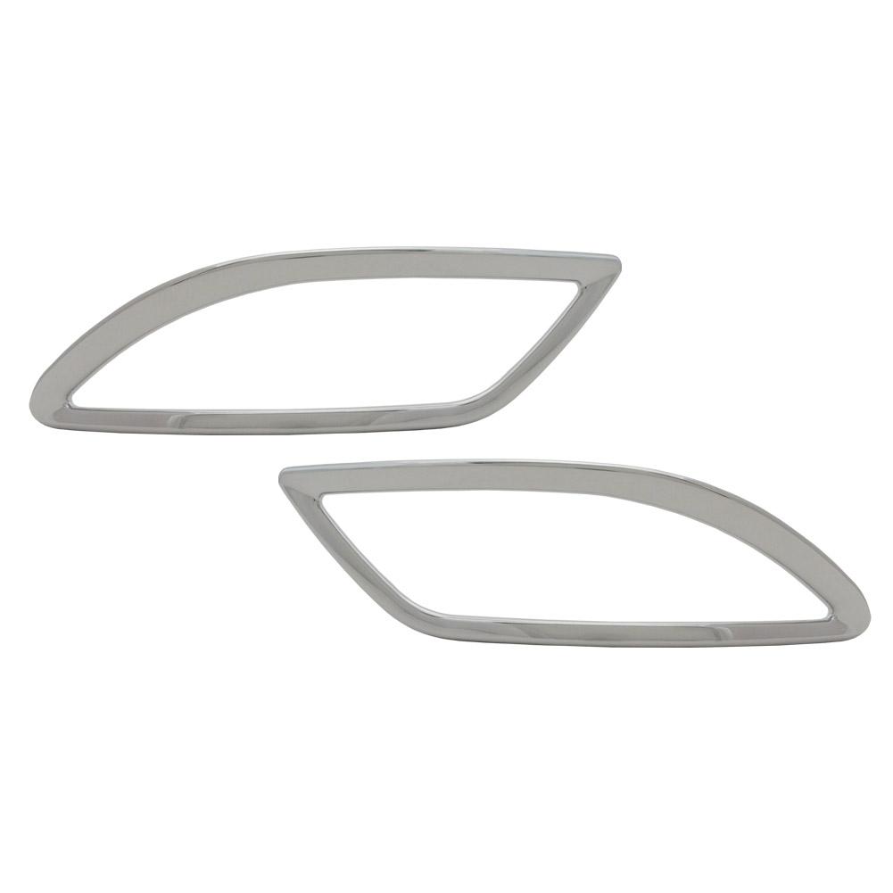 ri-ls602-06 リアリフレクター用 RX270 350 450h(AL10系前期 2008.12-2012.03 H20.12-24.03) TOYOTA Lexus トヨタ レクサス・クロームメッキランプトリム ガーニッシュ カバー ( 外装パーツ)