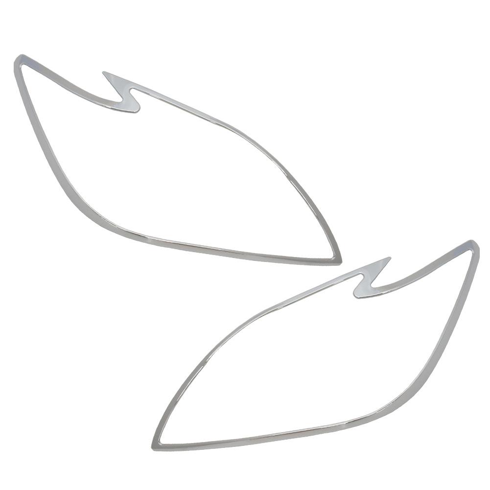 ri-ta441-01 ヘッドライト用 LEDヘッドライト車専用 TOYOTA トヨタ Prius プリウス(30系前期 2009.03-2011.12 H21.04-H23.12) トリム カバー( カスタム パーツ メッキ ライト ヘッドランプ ヘッドライトカバー カスタムパーツ )