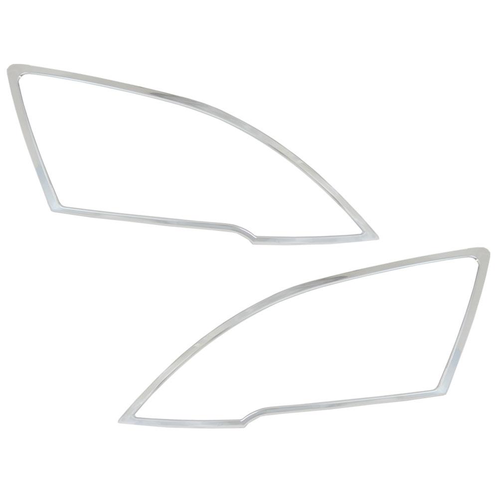 ri-hd441-01 ヘッドライト用 CR-V(RE3.4系 H18.10-H23.10 2006.10-2011.10)HONDA ホンダ クロームメッキ ランプトリム ガーニッシュ カバー ( カスタム 車 パーツ メッキ 改造 カー用品 外装 クロムメッキ カスタムパーツ )