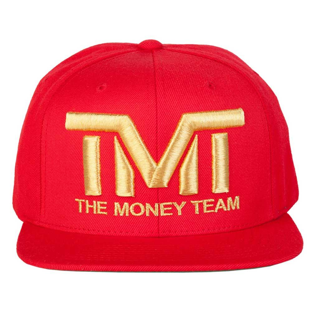 THE MONEY TEAM COLLECTION 2012年世界スポーツ賞金獲得王のフロイド・メイウェザー・ジュニアコレクション キャップ メンズ 帽子 TMT かっこいい ボクシング tmt-h006-3rg THE MONEY TEAM ザ・マネーチーム COURTSIDE (赤ベース金ロゴ) 刺繍ロゴ キャップ フロイド・メイウェザー・ジュニア ボクシング Floyd Mayweather WBA WBC ( TMT 帽子 ストリート メンズ スナップバック ロゴキャップ )