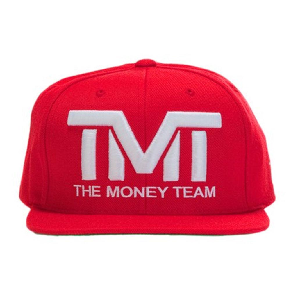 tmt-h006-3rw THE MONEY TEAM ザ・マネーチーム COURTSIDE (赤ベース&白ロゴ) キャップ ザ・マネーチーム フロイド・メイウェザー ボクシング メンズ レディース WBC WBA( tmt 帽子 tmtキャップ スナップバック ロゴキャップ )