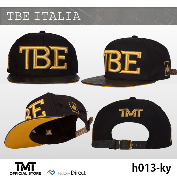 f52782e71bd MoneyTree THE MONEY TEAM ♢ TBE ITALIA Cap ♢ Gold logo   black bass ♢ Italy  Bookbinding leather ostrich embossed ♢ lizard leather embossing embroidered  ...