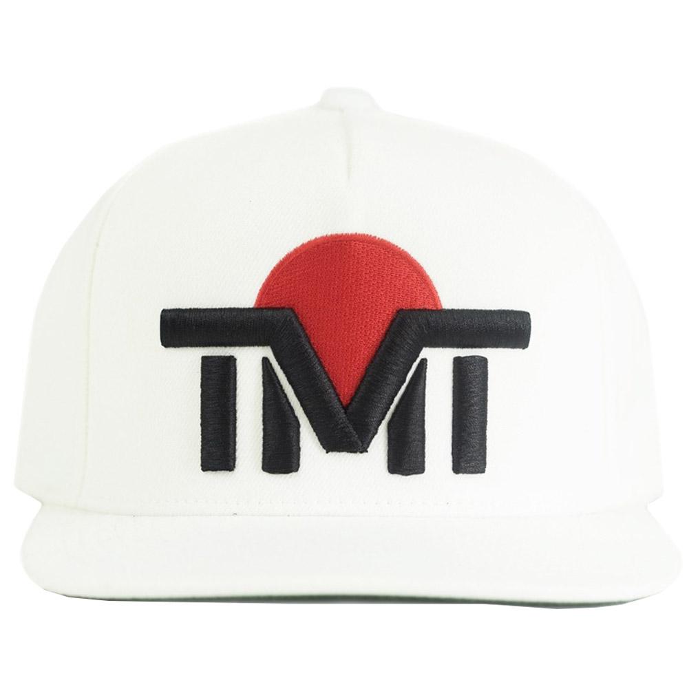 tmt-h95-2wk THE MONEY TEAM ザ・マネーチーム 白ベース&黒ロゴ LAND OF THE RISING SUN 日本(フロイド・メイウェザー キャップ グッズ ボクシング WBC 帽子 メンズ WBA スナップバック boxing メンズキャップ帽子 TMT )