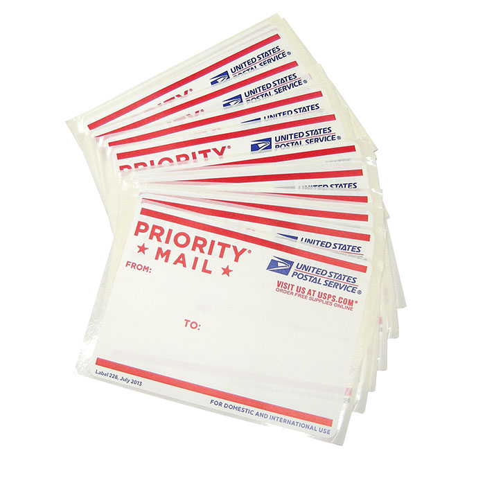 50 USPS 228 Eggshell Sticker